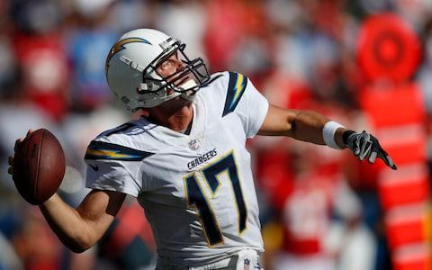 <span>Los Angeles Chargers quarterback Philip Rivers</span> <span>Credit: AP </span>