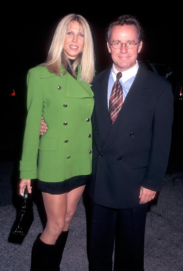 Phil Hartman and his wife, Brynn, attend an L.A. event on Nov. 12, 1997. (Photo: Ron Galella, Ltd./WireImage)