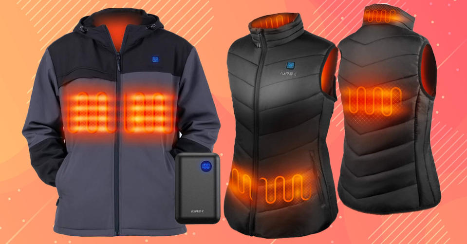 Iurek self-heating jackets are on sale, today only! (Photo: Amazon)