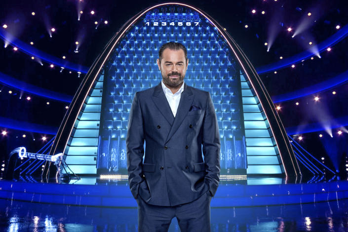 The Wall:  Danny Dyer. (Remarkable Television/Guy Levy)