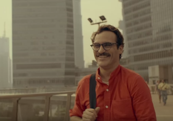 "<p>While we never see her face, Johansson is one of the most memorable characters in this Spike Jonze film. In the movie, she voices Samantha, the intelligent computer ""OS"" that protagonist Theodore (Joaquin Phoenix) falls in love with. The film was almost universally acclaimed, and many felt that Johansson should have been eligible for major accolades, despite her lack of physical presence. </p>"