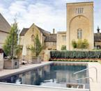 """<p>Its chic countryside location makes this 15-metre outdoor swimming pool one we'll happily cool down in on hot summer days. From here, you can take in the views of the picturesque grounds and soak up the Vitamin D on the stone-paved terrace before making a splash again. </p><p><a href=""""https://go.redirectingat.com?id=127X1599956&url=https%3A%2F%2Fwww.booking.com%2Fhotel%2Fgb%2Fellenborough-park.en-gb.html&sref=https%3A%2F%2Fwww.harpersbazaar.com%2Fuk%2Ftravel%2Fg33508196%2Fhotels-with-outdoor-pools%2F"""" rel=""""nofollow noopener"""" target=""""_blank"""" data-ylk=""""slk:Ellenborough Park"""" class=""""link rapid-noclick-resp"""">Ellenborough Park</a>'s heated outdoor swimming pool is a toasty 30C, which makes winter dips a treat, too. With this and its excellent spa facilities it's no wonder that spa lovers flock to this Cheltenham hotel.</p><p>There are 90 acres to explore around it so you can start the day by borrowing a pair of Dubarry boots for a country walk before retreating to the pool in the afternoon.</p><p><a class=""""link rapid-noclick-resp"""" href=""""https://go.redirectingat.com?id=127X1599956&url=https%3A%2F%2Fwww.booking.com%2Fhotel%2Fgb%2Fellenborough-park.en-gb.html&sref=https%3A%2F%2Fwww.harpersbazaar.com%2Fuk%2Ftravel%2Fg33508196%2Fhotels-with-outdoor-pools%2F"""" rel=""""nofollow noopener"""" target=""""_blank"""" data-ylk=""""slk:BOOK NOW"""">BOOK NOW</a></p>"""