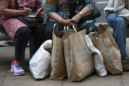 UK retail sales fall as non-food sales hit six year low
