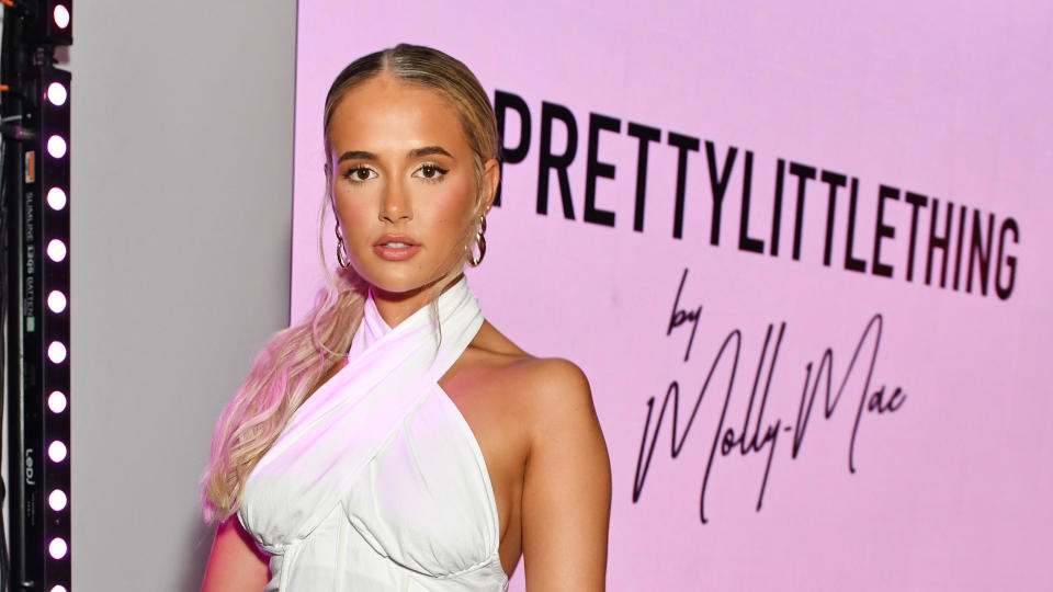 Molly Mae-Hague was announced in August as the new creative director of PrettyLittleThing. (David M. Benett/Getty Images for Pretty Little Thing)