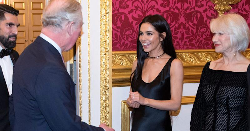Cheryl Tweedy broke cover to make a rare public appearance at a gala for The Prince's Trust on Thursday (8 February).