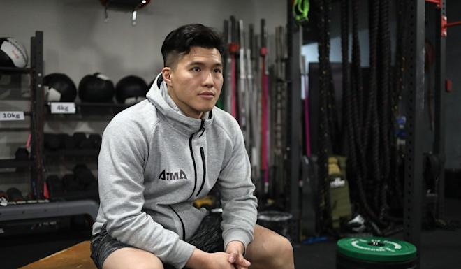 Leung Chi-kwan has put in a decade building up his ATMA gym. Photo: Winson Wong