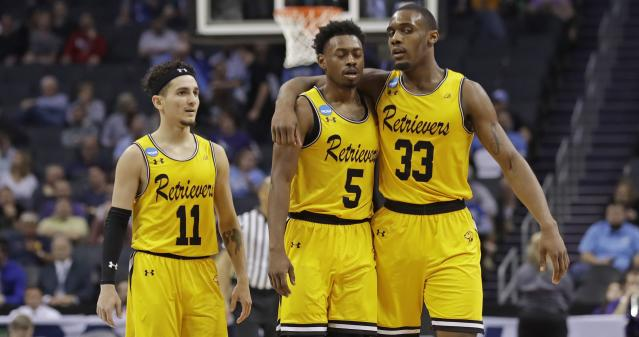UMBC made history on Friday against No. 1 Virginia, but it struggled Sunday against Kansas State. (Getty)