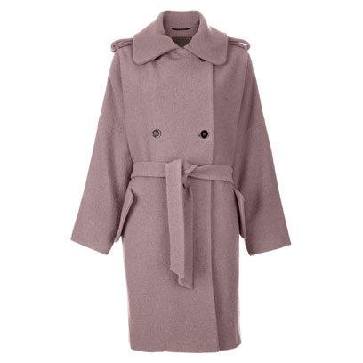 Mauve coat by Effect at Far Fetch