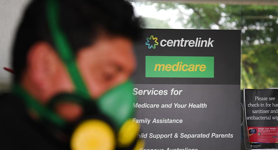 A stock image of a Centrelink. Source: AAP