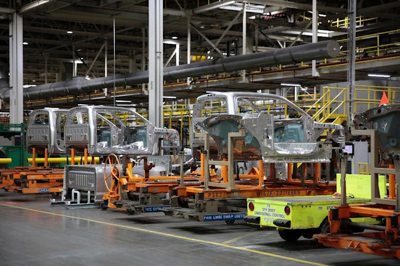 "The boost to the US economy ""is likely to be moderate,"" given that most tariffs were already dropped region-wide 25 years ago and because the US economy is so large, and the outcomes are even less hopeful in the auto sector (AFP Photo/JEFF KOWALSKY)"