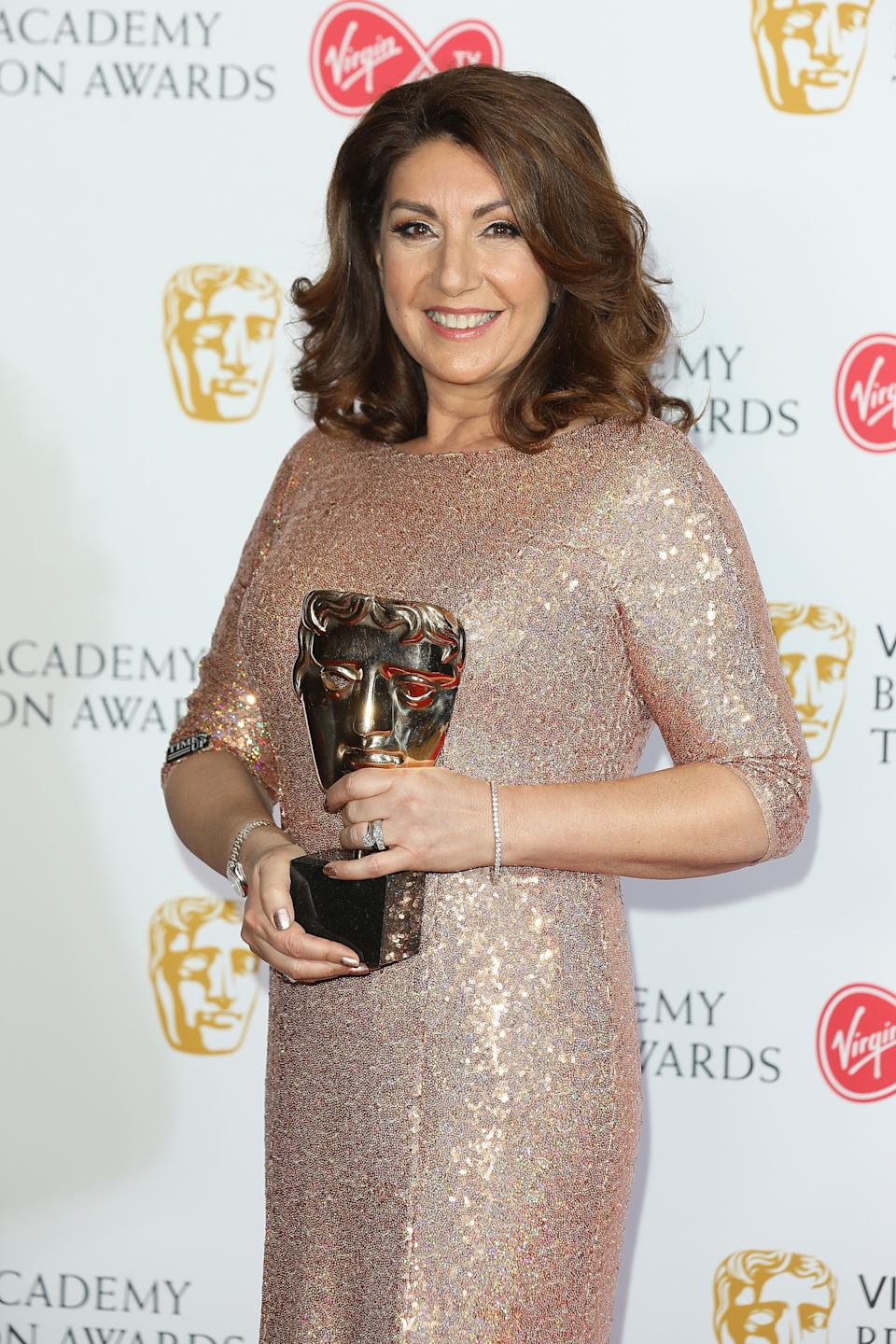 <strong>Jane McDonald was one of the night's more unlikely winners</strong> (Photo: Tim Whitby via Getty Images)