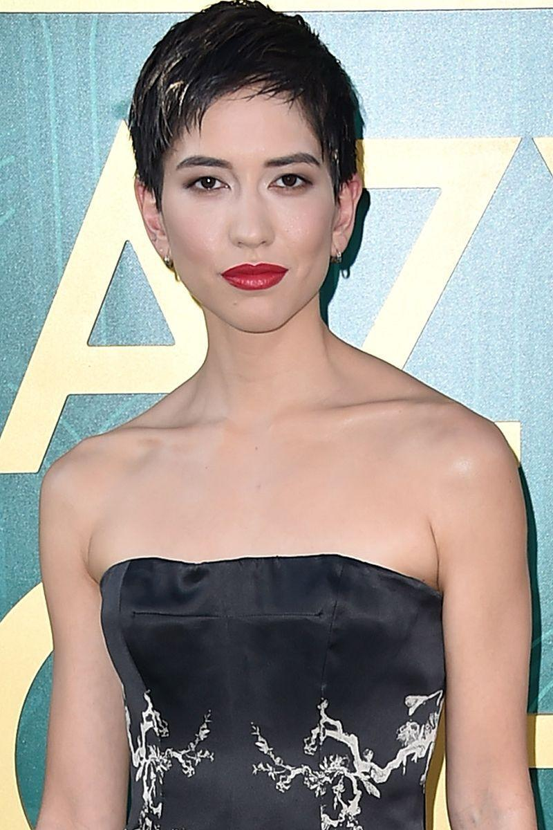 <p><em>Crazy Rich Asians </em>star and Shiseido spokesperson Sonoya Mizuno wears a feathered pixie with soft layers. It's got that nonchalant mood we love. </p>