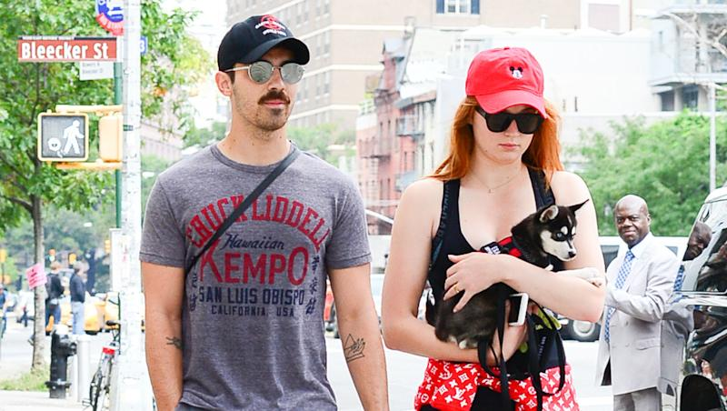 Joe Jonas & Sophie Turner Have New Matching Tattoos for Late Dog Waldo