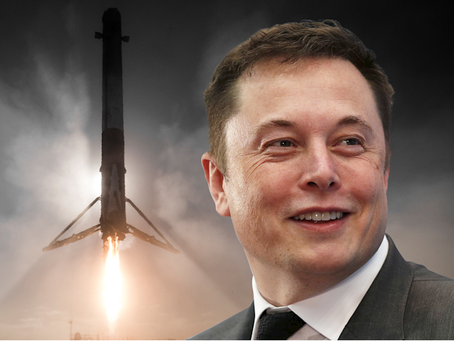 Elon Musk SpaceX falcon 9 reusable rocket launch landing BI Graphics 4x3