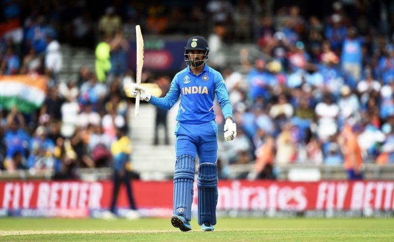 KL Rahul scored a hundred in his first ODI.