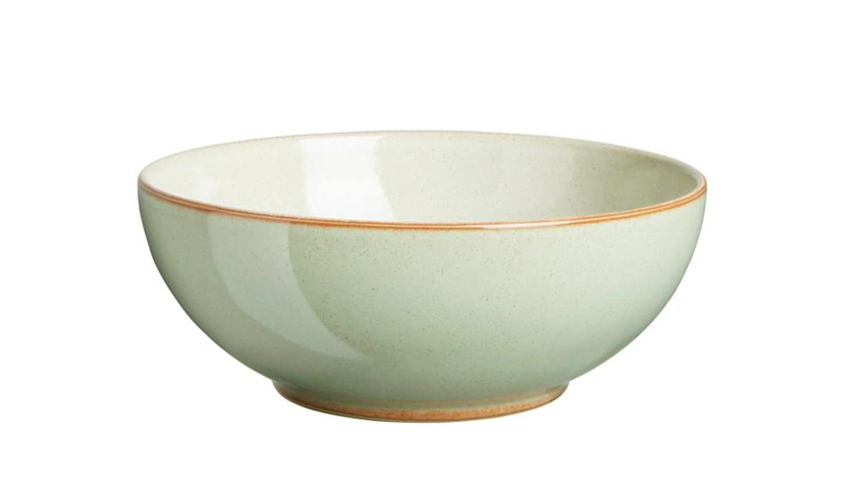 Gifts for college-bound students: Denby cereal bowl