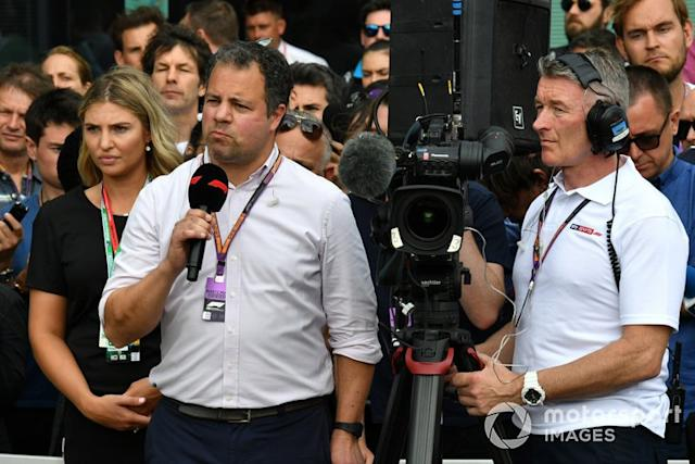 "Ted Kravitz, Sky TV <span class=""copyright"">Mark Sutton / Motorsport Images</span>"