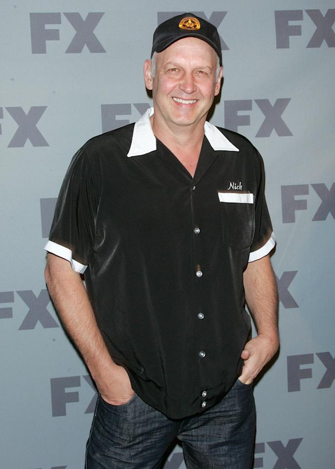 "Nick Searcy (""<a href=""http://tv.yahoo.com/justified/show/45070"">Justified</a>"") attends FX's 2012 Upfronts at Lucky Strike on March 29, 2012 in New York City."