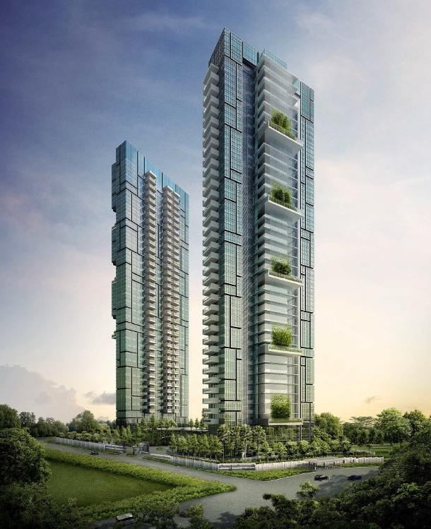 Rendering of Bukit Sembawang Estate's 8 St Thomas