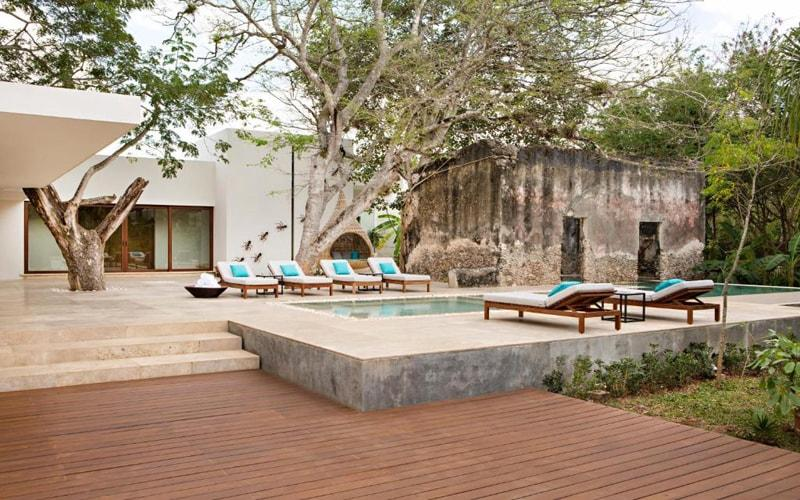 Chablé Resort & Spa is an award-winning luxury design hotel