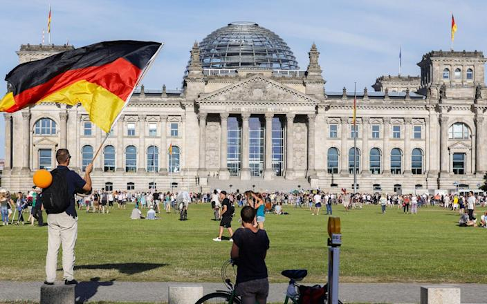 Germany is 'already contending with a second wave', the head of the German doctors' union has said - FELIPE TRUEBA/EPA-EFE/Shutterstock