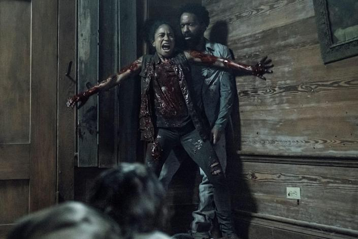 TWD 1106 Connie protects Virgil