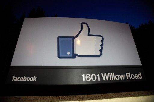 A 'like' sign stands at the entrance of Facebook headquarters in May 2012 in Menlo Park, California. After a dire stock market debut, Facebook has clawed back a large chunk of its losses as investors look past the flubbed initial public offering and gradually warm to the leading social network