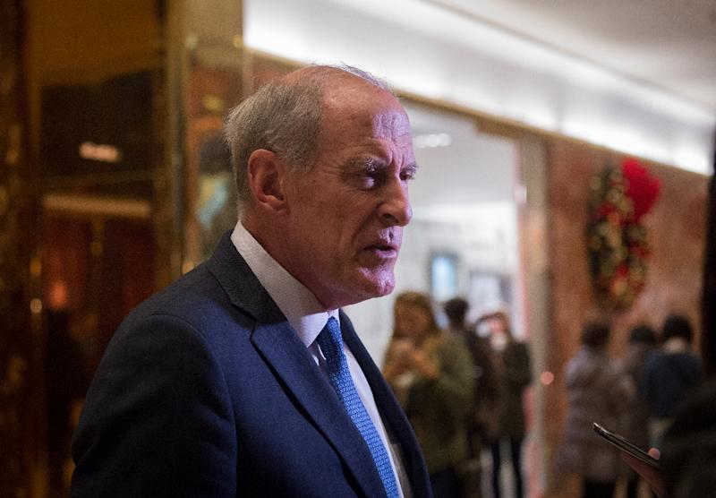 Dan Coats was one of six US legislators and three White House aides blacklisted by Moscow in 2014 in reprisal for US sanctions placed on the country (AFP Photo/Bryan R. Smith)