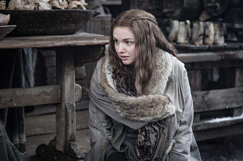 Hannah Murray as Gilly in <i>Game of Thrones</i>. (Photo: Helen Sloan/HBO)
