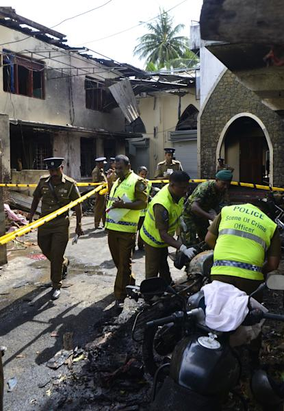 The bombing attacks in Sri Lanka killed at least 290 people, including Americans. Who is responsible? National Thowfeek Jamaath, a militant group.