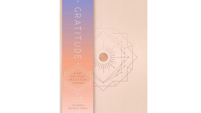Gratitude: A Day and Night Reflection Journal, $22. (Image via Amazon)