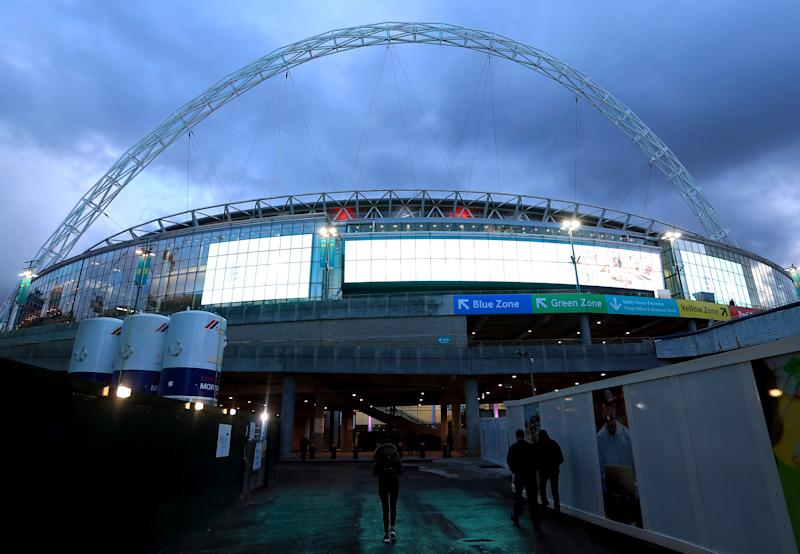 Wembley stadium. Photo: Mike Egerton/PA Wire/PA Images