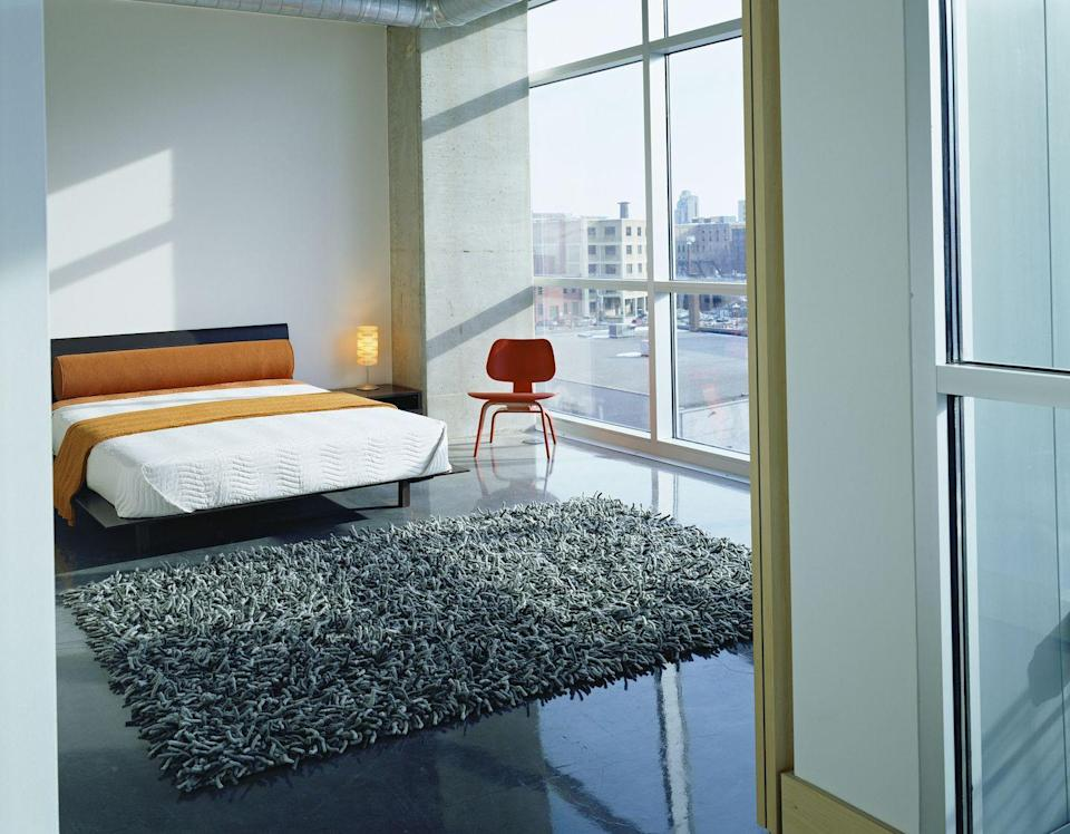 <p>We know, we know. Shag carpets feel wonderful underfoot, but they miss the mark when it comes to making a space look stylish. Stick to low-pile carpets for a more modern aesthetic. </p>