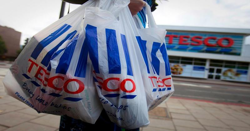 Tesco's 5p plastic bags will soon disappear from the supermarket (Simon Dawson/Getty Images)
