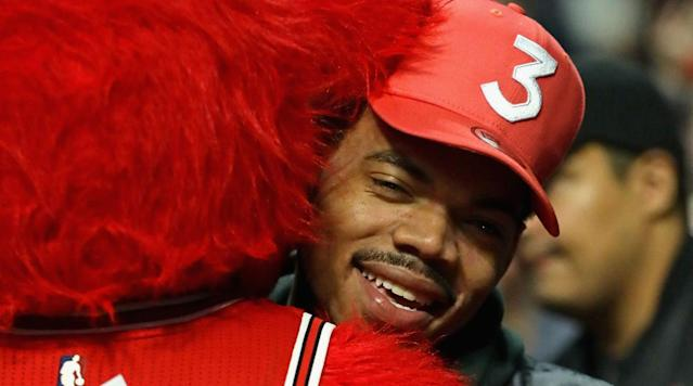 Chance the Rapper held a press conference at Chicago's Robeson High School on Friday to announce that the Chicago Bulls have matched his pledge to donate $1 million to Chicago Public Schools.