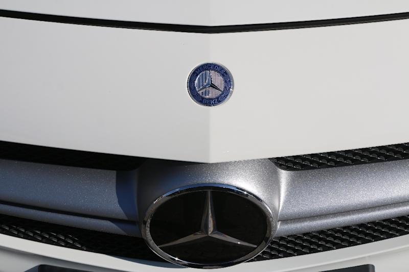 Will European carmakers be 'heavily penalised'? (AFP Photo/Yann Schreiber)
