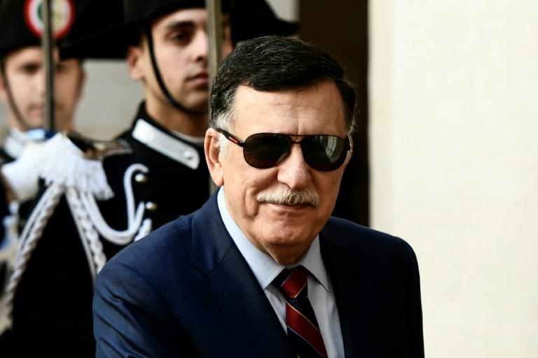 Prime Minister of the Government of National Accord of Libya Fayez al-Sarraj (pictured May 7, 2019) accused Paris of supporting Haftar and tacitly backing his assault on Tripoli