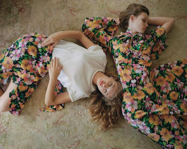 <p><strong>Models:</strong> Dorit Revelis, Cara Taylor<br><strong>Photographer:</strong> Theo Wenner<br><strong>Stylist</strong>: Alice Goddard<br>(Photo: Courtesy of Topshop) </p>