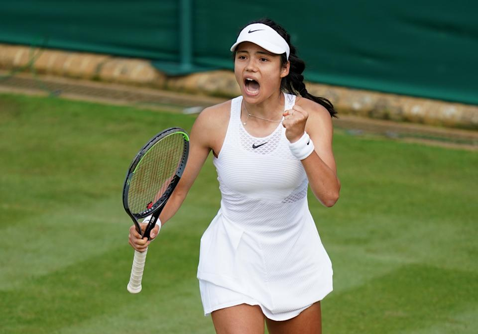 Precocious Raducanu, 18, showed remarkable experience beyond her years to become the last Brit standing in the women's draw