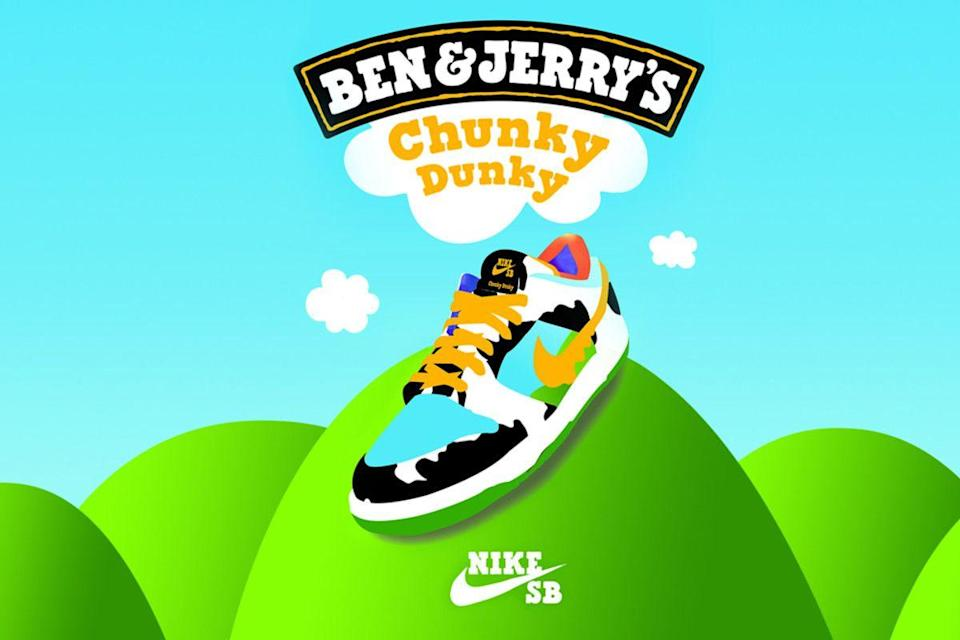 Photo credit: Ben & Jerry's / Nike