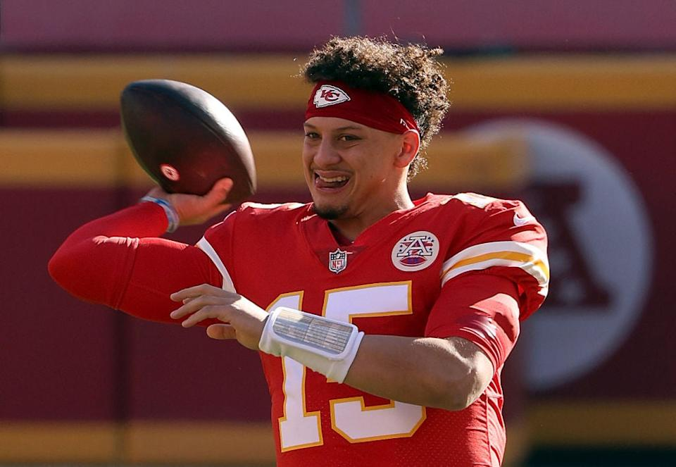 Patrick Mahomes has rested during week 17 and the byeGetty