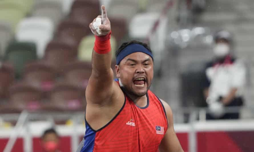 Malaysian shot putter Muhammad Ziyad Zolkefli stripped off gold medal for arriving 3 min late