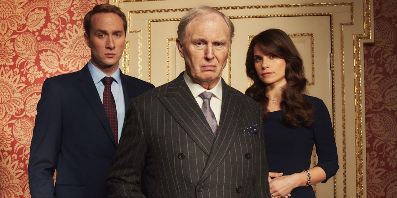 <p>Da sinistra: Oliver Chris (William), Tim Pigott- Smith (Carlo) e Charlotte Riley (Kate). </p>