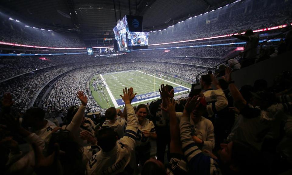 The AT&T Stadium is home of the Dallas Cowboys
