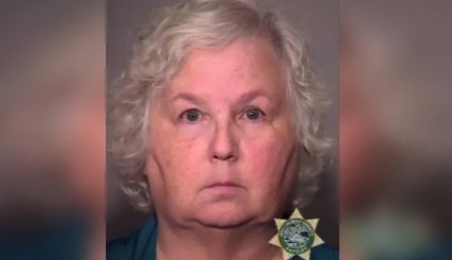 Romance novelist Nancy Crampton-Brophy is facing a charge of murder with a firearm. (Photo: Multnomah County Sheriff's Office)