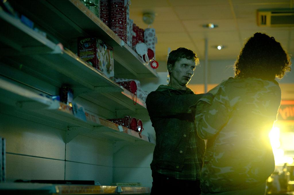 "Luke Newberry as Kieren Walker and Riann Steele as Lisa in BBC America's ""In The Flesh."""