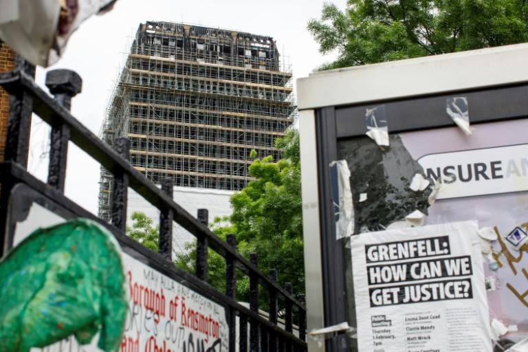 Ban on flammable cladding considered after backlash over Grenfell probe