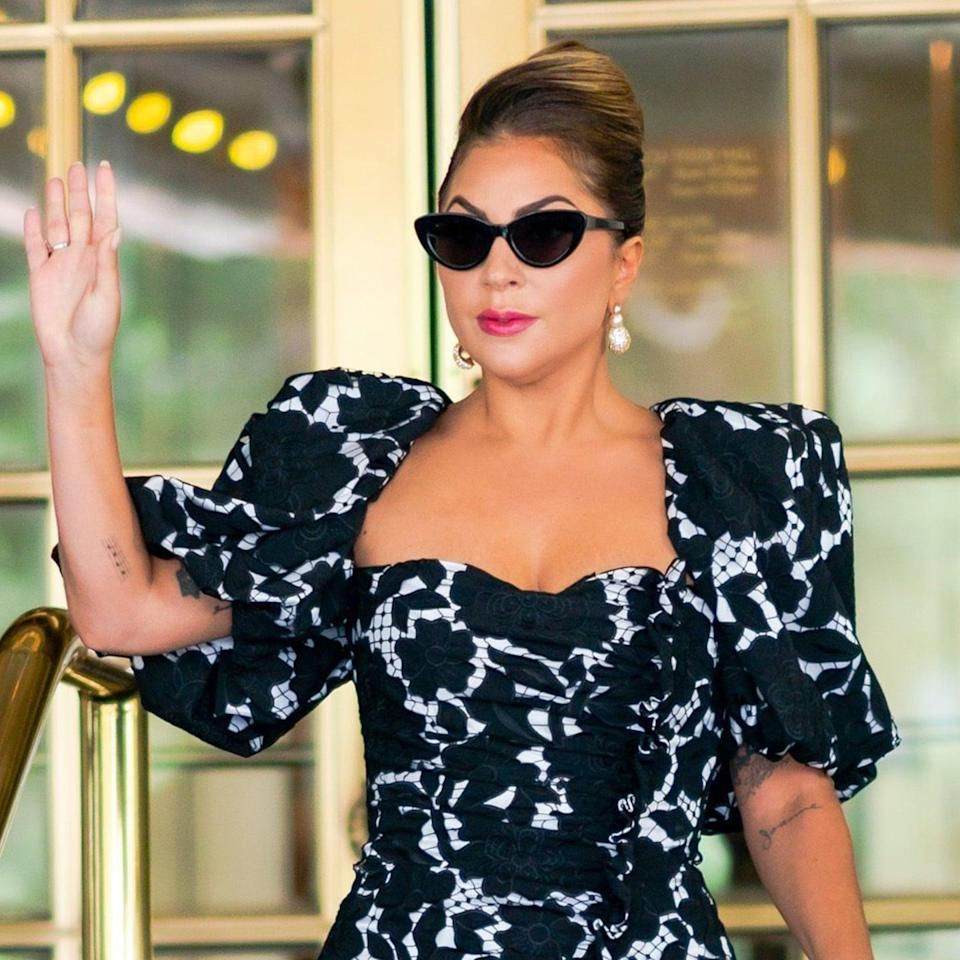 Lady Gaga Exudes Old Hollywood Glamour in 4 Showstopping Dresses in NYC