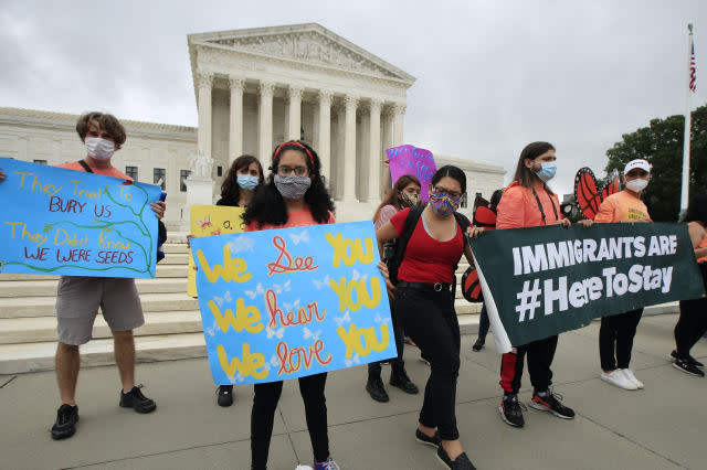 Supreme Court rejects Trump bid to end protections for young immigrants