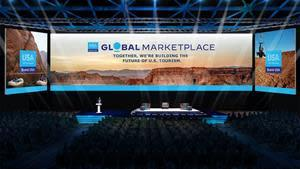 Main Stage of the Brand USA Global Marketplace
